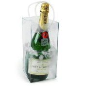 LEORX Ice Bag - PVC Champagne Wine Pouch Cooler Bag with Handle