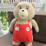 Teddy Bear Ted 2 Plush Toys In Apron
