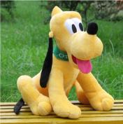 Sitting Plush Pluto Dog