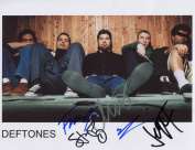The Deftones FULLY SIGNED Photo 1st Generation PRINT Ltd 150 + Certificate
