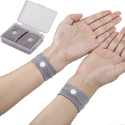 TRIXES Acupressure Travel Band for Motion Sickness Nausea Headaches