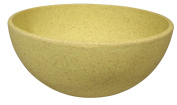 Big Bowl, Yellow / Shell (Alternative to the melamine tableware)-Zuperzozial Raw Earth Collection
