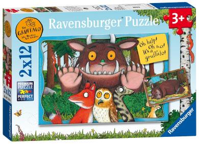 Ravensburger The Gruffalo Puzzles (2 x 12-Piece)