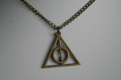 Deathly Hallows Triangle Harry Potter Necklace Pendant
