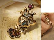 King Crown Fox Bronze Ring