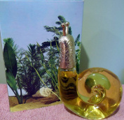 "Avon ""Bath Treasure"" Snail Figural Decanter Skin So Soft Bath Oil 180ml Vintage"