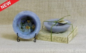 Habersham Personal Space Wax Pottery Vessel With Stand- Lavender Chamomile- #05