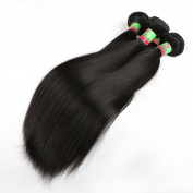 uchang Eecamail Beauty 8A Top Quality Brazilian Virgin Straight Hair 4 Bundles Remy Silky Straight Hair Weave