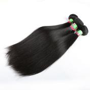 xuchang Eecamail Hair 8A 100% Virgin Peruvian Silky Straight 1 Bundles 100g Total Human Hair Weave Extensions Natural Black Colour