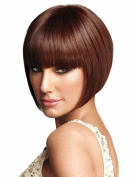 B-G Charming Wigs New Fashion Women Party Cosplay Short Sexy Full Hair Wig Human Hair Natural Looking + A Free Wig Cap WIG031