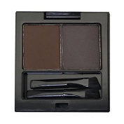 City Colour Brow Duo Kit Shape Defining Eyebrow 3 Shade Matte Powder with Brush