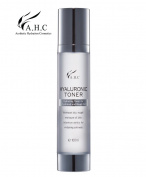 AHC Hyaluronic Toner 100ml (3.3 oz) Hyaluronic Acid and Herb Ingredients Providing Moisture and Nourishment to the Skin