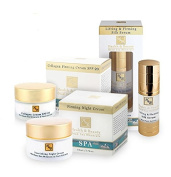 H & B Deda Sea Collagen Firming Cream SPF-20, Firming Night Cream & Lifting & Firming Silk Serum