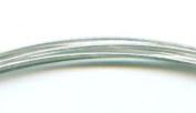 21 Gauge Sterling Silver Half Hard Square Wire - 1.5m