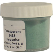 2435 Tuquoise Enamel for Copper, Gold and Silver - 60ml/56.7g
