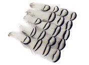Eforstore 100Pcs Natural Black and White Feather For Home Party Wedding Decorations