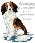 Dog, the Friend counted cross stitch, cotton thread , 14ct 100x120 stitch 29x32 cm counted cross stitch kits