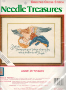 Needle Treasures Counted Cross Stitch Kit Angelic Tidings 02899