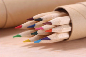 GH8 12-colour Coloured Pencils/ Drawing Pencils for Sketch/Secret Garden Colouring Book