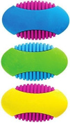 Geddes 3 Pack Get A Grip Erasers, Textured Sides, Fun Assorted Colours