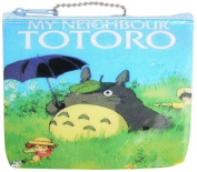 Totoro Coin Bag with Sisters In The Meadow