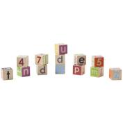Manhattan Toy Wooden Block Set Baby Developmental Toy