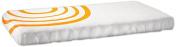 Nook Sleep Fitted Crib Sheet, Poppy Orange