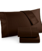 Charter Club Damask Solid 500 Thread Count Standard Pillowcase Pair