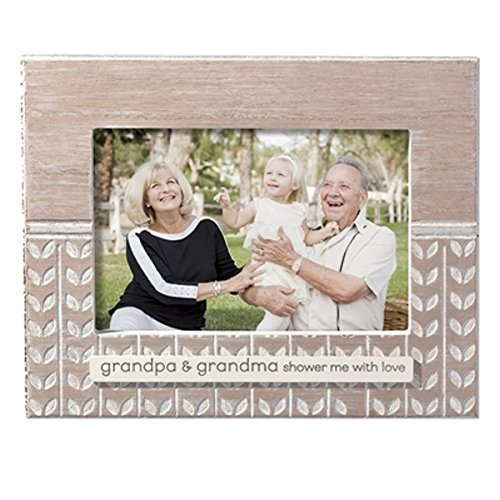 Wooden Grandparents Picture Frame- Grandma & Grandpa Shower Me With ...
