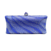 DMIX Womens Crystal Clutches and Evening Bag for Wedding Bridal Prom