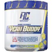 Ronnie Coleman Signature Series Yeah Buddy 30 Serve Pre-Workout Supplement, Electric Lemonade, 240 Gramme