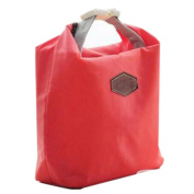 Thermal Cooler Insulated Waterproof Lunch Carry Storage Picnic Bag Pouch lunch box bag Red
