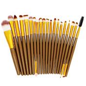 Make Up Brush Set,Mikey Store 22pcs Makeup Sponge Makeup Brush Cleaner Foundation Brush