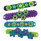 Make Pretty Purple Felt Bracelets Kit