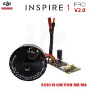 DJI Inspire 1 PRO V2.0 Drone WM610 3510H M2,M4 Brushless CW Clockwise Motor, ESC