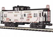 CN EXTENDED VISION CABOOSE