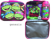 Teenage Mutant Ninja Turtles Lunch Box With Zak Chill Pak & Thermos Funtainer Bottle