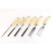 6 Piece Wood Chisel Set Steel Blade Wood Carving Kit Wood Carving Knives