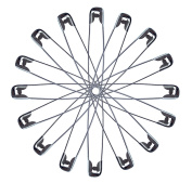 30 Pack Extra Large 7.6cm Safety Pins