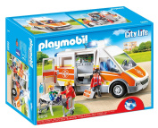 Playmobil Ambulance with light and sound 6685