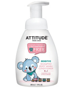 ATTITUDE 3 in 1 Foaming Shampoo, Body Wash and Conditioner, 10 Fluid Ounce