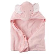 Baby Girl Elephant Hooded Towel