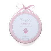 Child to Cherish My Child's Handprint with Hanger, Pink