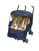 Manito Elegance Alpha Twin Stroller Weather Shield / Rain Cover