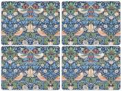 Pimpernel William Morris Strawberry Thief Blue Placemats - Set of 4