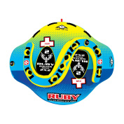 """WOW World of Watersports, 15-1060, Ruby Sister Series Face to Face """"S"""" Shaped Towable, 1 to 2 Person"""