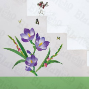 Flowering Garden - Wall Decals Stickers Appliques Home Decor
