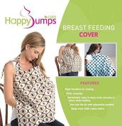 Nursing Cover - Breastfeeding Apron Muslin - 100% Cotton Breastfeeding Shawl - Breastfeed in public comfortably and discretely
