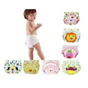 CuteOn 7 pack Baby Toddler Girls Boys Cotton Potty Training Pants Reusable 100cm