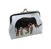 Ularma Womens Elephant Wallet Card Holder Coin Purse Clutch Handbag